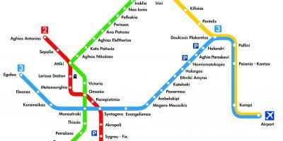 خريطة اليونان بالتفصيل 10